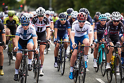 Ann-Sophie Duyck (BEL) and Lotta Lepistö (FIN) at OVO Energy Women's Tour 2018 - Stage 1, a 130 km road race from Framlingham to Southwold, United Kingdom on June 13, 2018. Photo by Sean Robinson/velofocus.com