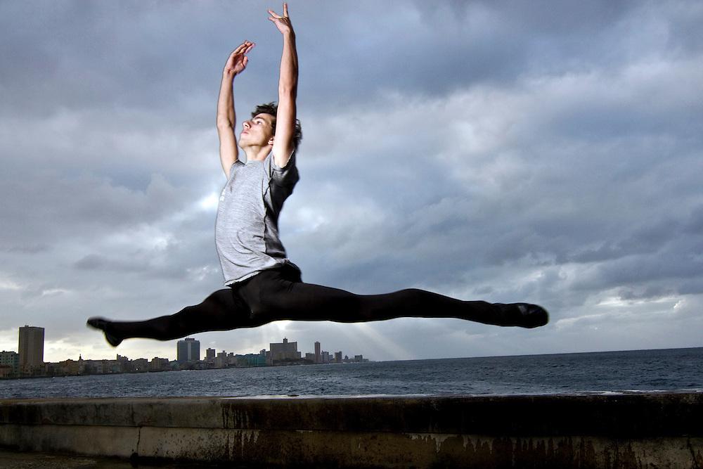 Cuban National Ballet dancer