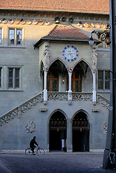 SWITZERLAND BERN 1MAR12 - Town Hall at Kreuzgasse in Bern, Switzerland.....jre/Photo by Jiri Rezac....© Jiri Rezac 2012