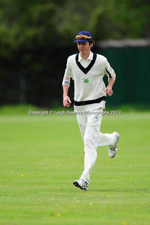 Orsett CC (A Team) v Harold Wood (A Team) at Orsett Cricket Club ground. Essex Sunday League Cricket. 12.05.13. Credit © Leigh Dawney Photography 2013.