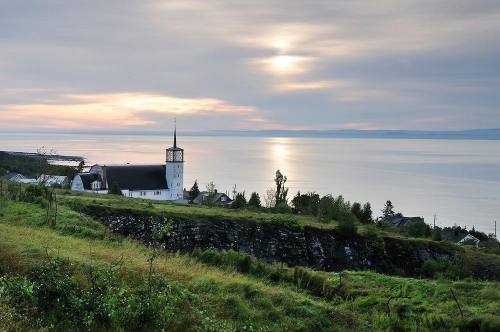 Church,Cap a l'Aigle,Malbaie,Quebec, Canada,