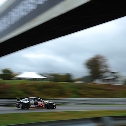 The SpeedSource Mazda RX-8 drive by Sylvain Tremblay and Jonathan Bomarito of the United States during the Grand-Am Rolex Sports Car Series Championship weekend at Lime Rock Park in Lakeville, Conn.