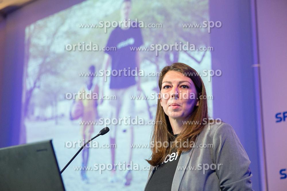Irena Stamenkovic of UNICEF Slovenija at Day 2 of Sports marketing and sponsorship conference Sporto 2014, on November 21, 2014 in Hotel Slovenija, Congress centre, Portoroz / Portorose, Slovenia. Photo by Vid Ponikvar / Sportida