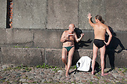 Sunbathing in St Petersburg, 2013