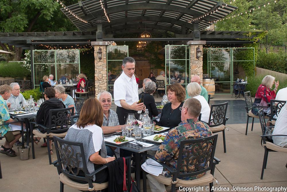 Dan and Cindy Marca , Winemaker dinner at Dancin Vineyards near Jacksonville,  Rogue Valley AVA, Southern Oregon