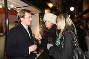 JAMES ALLSOP, AMANDA SHEPHERD AND VIOLET VON WESTENHOLZ,  Beatrix Ong shop launch, The Burlington Arcade. London. 14 November 2007. -DO NOT ARCHIVE-© Copyright Photograph by Dafydd Jones. 248 Clapham Rd. London SW9 0PZ. Tel 0207 820 0771. www.dafjones.com.