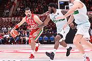 Simon Krunoslav<br /> EA7 Emporio Armani Olimpia Milano - Sidigas Avellino<br /> LegaBasket 2016/2017<br /> Milano 09/10/2016<br /> Foto Ciamillo-Castoria