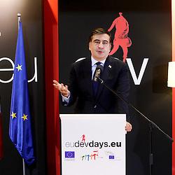 20111215 - Poland - Warsaw  - European Development Days  2011 - Opening Ceremony - Mikheil Saakashvili , President of the Republic of Georgia © European Union