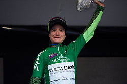 Marianne Vos (NED) retains the sprinter's jersey at Ladies Tour of Norway 2018 Stage 2, a 127.7 km road race from Fredrikstad to Sarpsborg, Norway on August 18, 2018. Photo by Sean Robinson/velofocus.com