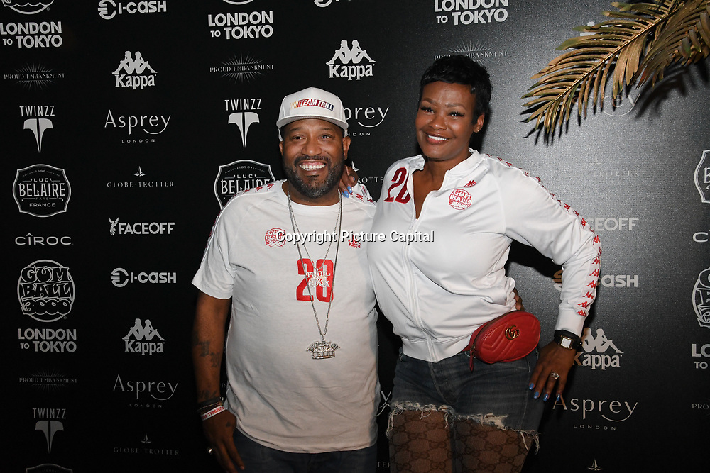 Bun B attend the Official launch party for the annual Gumball 3000 Rally took place at Proud Embankment on August 4 2018, London, UK.