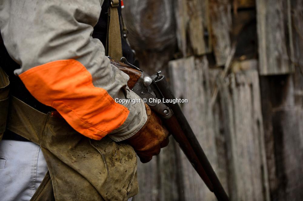 parker shotgun stock photo image