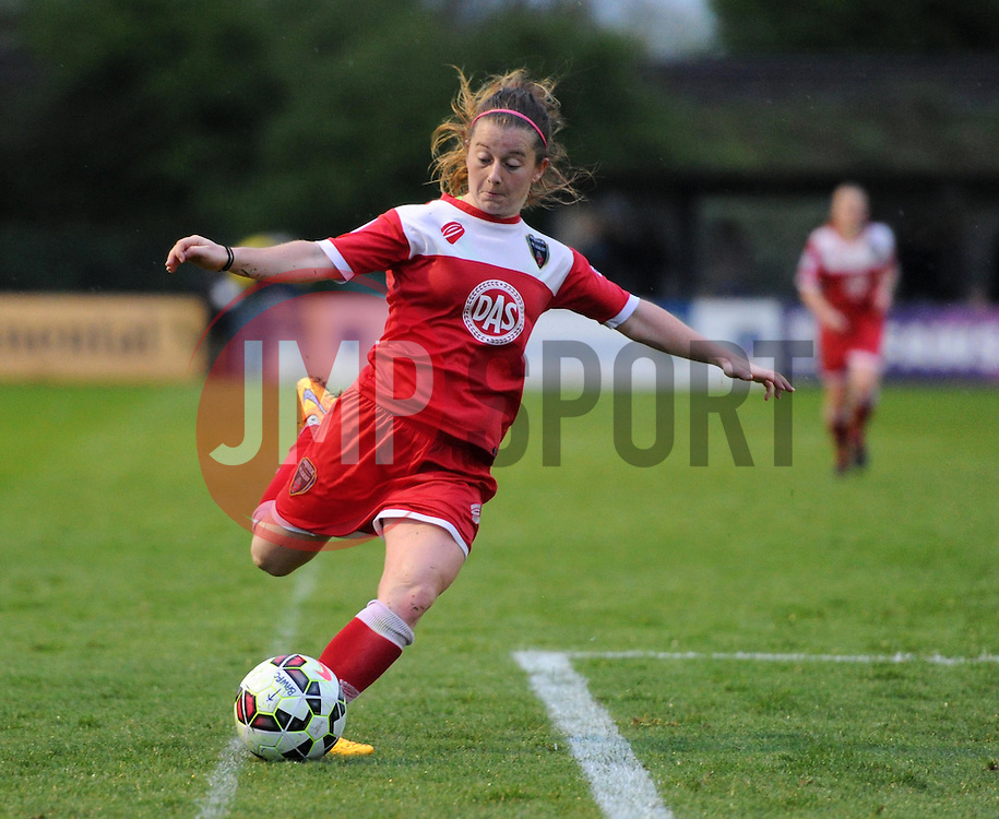 Bristol Academy's Christie Murray - Photo mandatory by-line: Paul Knight/JMP - Mobile: 07966 386802 - 25/04/2015 - SPORT - Football - Bristol - Stoke Gifford Stadium - Bristol Academy Women v Notts County Ladies FC - FA Women's Super League