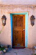 Adobe house, Rancho de Taos, New Mexico