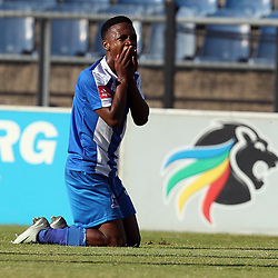 DURBAN, SOUTH AFRICA - MAY 01: Mlondi Dlamini of Maritzburg Utd during the Absa Premiership match between Maritzburg United and Cape Town City FC at Harry Gwala Stadium on May 01, 2017 in Durban, South Africa. (Photo by Steve Haag/Gallo Images)