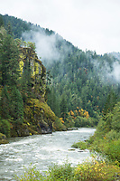 North Umpqua River along Highway 138 in Southern Oregon.