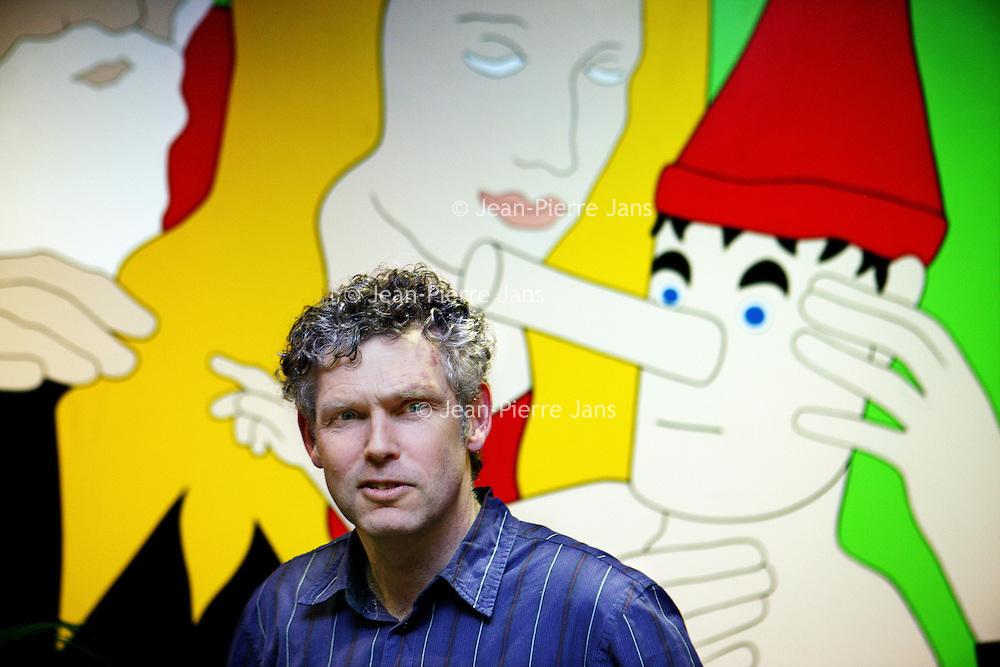 Nederland, Amsterdam , 17 januari 2014.<br /> Chaim Huyser, hij is kinder en jeugdpsychiater bij de Bascule<br /> Foto:Jean-Pierre Jans