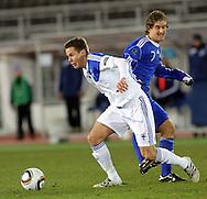 17.11.2010, Olympiastadion, Helsinki..EM-karsintaottelu Suomi - San Marino..Niklas Moisander - Suomi.©Juha Tamminen.