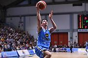 Michele Ruzzier<br /> Vanoli Cremona - Germani Leonessa Basket Brescia<br /> LegaBasket Serie A 2017/2018<br /> Cremona, 28/04/2018<br /> Foto M.Ceretti / Ciamillo-Castoria