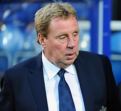 Queen Park Rangers Manager, Harry Redknapp  - Photo mandatory by-line: Seb Daly/JMP - Tel: Mobile: 07966 386802 27/08/2013 - SPORT - FOOTBALL - Loftus Road - London - Queens Park Rangers V Swindon Town -  Capital One Cup - Round 2