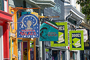 Shopping at Haight Ashbury District in San Francisco California