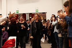 April 28, 2019 - Barcelona, Catalonia, Spain - Meritxell Batet is entering in the PSC headquarters. Barcelona 2019 April 28  (Credit Image: © Nicolò Ongaro/NurPhoto via ZUMA Press)