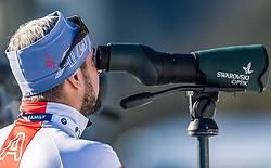 24.01.2019, Suedtirol Arena, Antholz, ITA, IBU Weltcup Biathlon, Sprint, Damen, im Bild Ricco Gross Cheftrainer Herren (AUT) // Ricco Groß head coach of Austria men during women' s Sprint of BMW IBU Biathlon World Cup at the Suedtirol Arena in Antholz, Italy on 2019/01/24. EXPA Pictures © 2019, PhotoCredit: EXPA/ Stefan Adelsberger