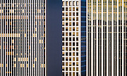 Close-up view of office buildings, Lloyd Center district, Portland, Oregon