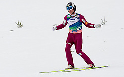 Jernej Damjan of Slovenia during Flying Hill Individual Qualifications at 1st day of FIS Ski Jumping World Cup Finals Planica 2011, on March 17, 2011, Planica, Slovenia. (Photo by Vid Ponikvar / Sportida)