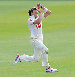 Sussex's Matthew Hobden - Photo mandatory by-line: Harry Trump/JMP - Mobile: 07966 386802 - 08/07/15 - SPORT - CRICKET - LVCC - County Championship Division One - Somerset v Sussex- Day Four - The County Ground, Taunton, England.