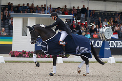 Sanavio Riccardo, ITA, Dark President<br /> Longines FEI/WBFSH World Breeding Dressage Championships for Young Horses - Ermelo 2017<br /> © Hippo Foto - Dirk Caremans<br /> 06/08/2017