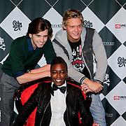 NLD/Amsterdam/20111007 - Presentatie Marc Ecko watches, Ruud Feltkamp, Sjeazy Pearl, Ferry Doedens