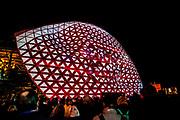 De 12e editie van lichtkunstfestival GLOW Eindhoven staat in het teken van 'The Source'. Een looproute door het centrum van de stad voert je langs ruim 30 objecten van lichtkunstenaars uit alle hoeken van de wereld.