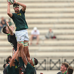 Ruan Nortje of South Africa U20 during the U20 World Championship match between Ireland and South Africa on June 3, 2018 in Narbonne, France. (Photo by Manuel Blondeau/Icon Sport)