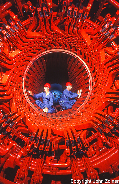 Power Plant Nuclear Generator Maintenance