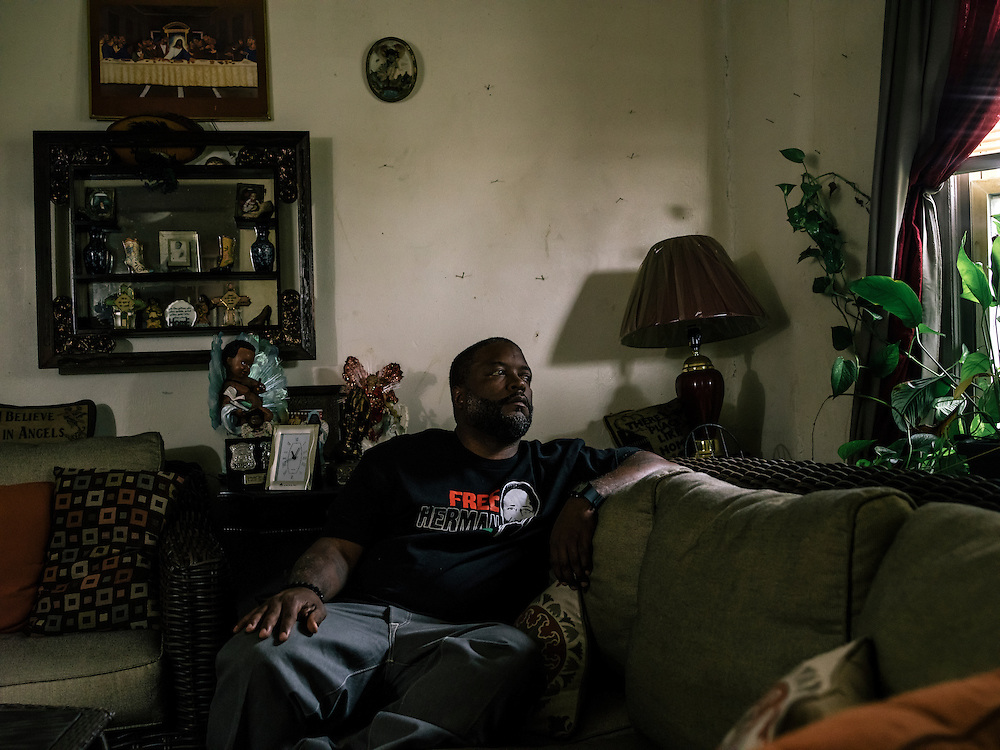 Yusef Shakur at his mother's home in West Detroit.