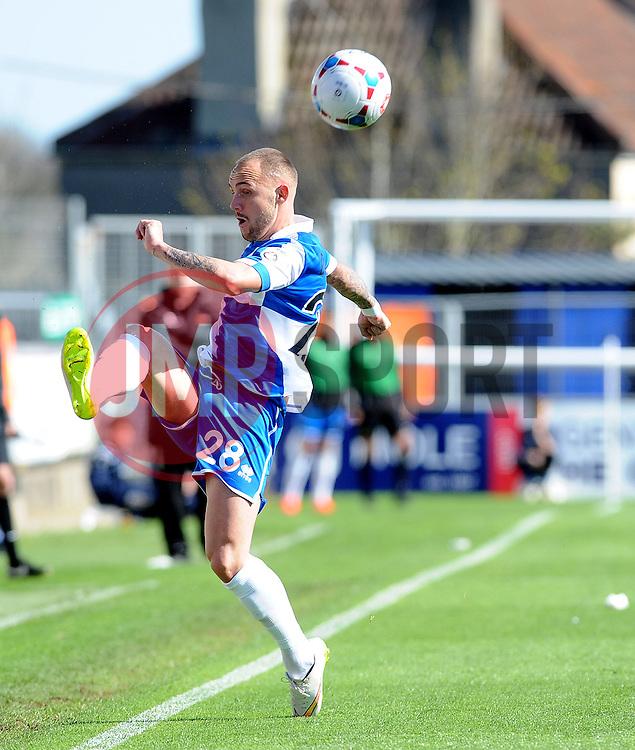 Bristol Rovers' Adam Dawson  - Photo mandatory by-line: Neil Brookman/JMP - Mobile: 07966 386802 - 11/04/2015 - SPORT - Football - Bristol - Memorial Stadium - Bristol Rovers v Southport - Vanarama Football Conference