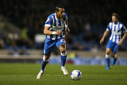 Brighton defender, full back, Liam Rosenior (23) during the Sky Bet Championship match between Brighton and Hove Albion and Bristol City at the American Express Community Stadium, Brighton and Hove, England on 20 October 2015.