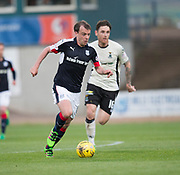 Dundee&rsquo;s Paul McGowan races away from Inverness&rsquo; Greg Tansey - Dundee v Inverness Caledonian Thistle in the Ladbrokes Scottish Premiership at Dens Park, Dundee, Photo: David Young<br /> <br />  - &copy; David Young - www.davidyoungphoto.co.uk - email: davidyoungphoto@gmail.com