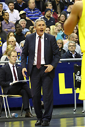 15.11.2015, Mercedes Benz Arena, Berlin, GER, Alba Berlin vs FC Bayern Muenchen, 4. Runde, im Bild Svetislav Pesic (Trainer Bayern Muenchen) // during the Beko Basketball Bundes league 4th round match between Alba Berlin and FC Bayern Muenchen at the Mercedes Benz Arena in Berlin, Germany on 2015/11/15. EXPA Pictures © 2015, PhotoCredit: EXPA/ Eibner-Pressefoto/ Hundt<br /> <br /> *****ATTENTION - OUT of GER*****