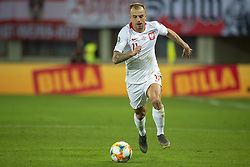 March 21, 2019 - Vienna, Austria - Kamil Grosicki of Poland pictured in action during the UEFA European Qualifiers 2020 match between Austria and Poland at Ernst Happel Stadium in Vienna, Austria on March 21, 2019  (Credit Image: © Andrew Surma/NurPhoto via ZUMA Press)