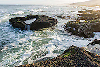 Intertidal zone impacted upon by wave action, De Hoop Nature Reserve & Marine Protected Area, Western Cape, South Africa