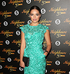 © Licensed to London News Pictures. 17/03/2015, UK. Olympia Valance (Paige Smith), Neighbours 30th Anniversary, Café De Paris, London UK, 17 March 2015,. Photo credit : Richard Goldschmidt/Piqtured/LNP