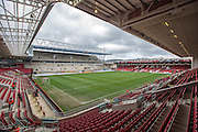 Ashton Gate during the Sky Bet Championship match between Bristol City and Cardiff City at Ashton Gate, Bristol, England on 5 March 2016. Photo by Shane Healey.