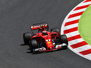 Kimi Raikkonen of Scuderia Ferrari during the practice session of the Spanish Formula One Grand Prix at Circuit de Catalunya, Barcelona, Spain.<br /> Picture by EXPA Pictures/Focus Images Ltd 07814482222<br /> 12/05/2017<br /> *** UK &amp; IRELAND ONLY ***<br /> <br /> EXPA-EIB-170512-0176.jpg