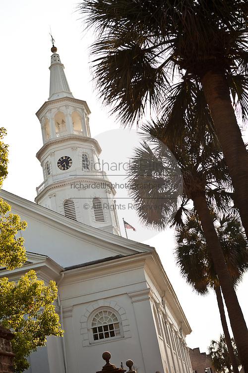 St. Michael's Church Broad Street Charleston, SC.