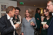 GRAEME SIMSION; FIONA MCMORROW; LOUISE JURY; CATHERINE TAYLOR, Graeme Simsion: The Rosie Project - press launch party. The Ivy Club, , 1-5 West Street, London, WC2H 9NQ,