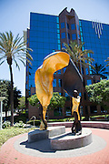Luminaire Sculpture and the Transpacific Development Company Office Building at Cerritos Towne Center