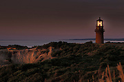 light house on Gay Head Cliffs Martha?s Vineyard