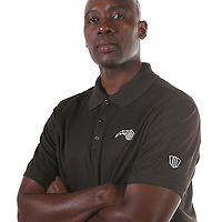 Orlando Magic head coach Jacque Vaughn poses for the camera during the NBA Orlando Magic media day event at the Amway Center on Monday, September 29, 2014 in Orlando, Florida. (AP Photo/Alex Menendez)