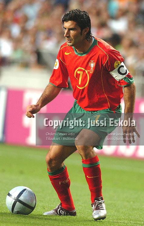 Luis Figo, Portugal-England 24.6.2004.&amp;#xA;Euro 2004.&amp;#xA;Photo: Jussi Eskola<br />